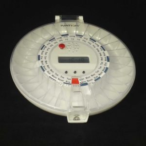 Pille Dispenser Klart cover og lock
